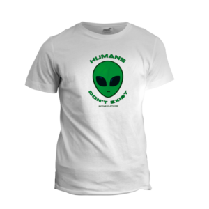 Camiseta Personalizada Humans don't exist