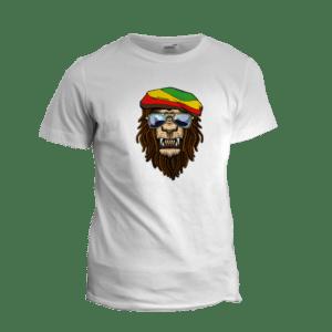 Camiseta Personalizada Leão rastafari