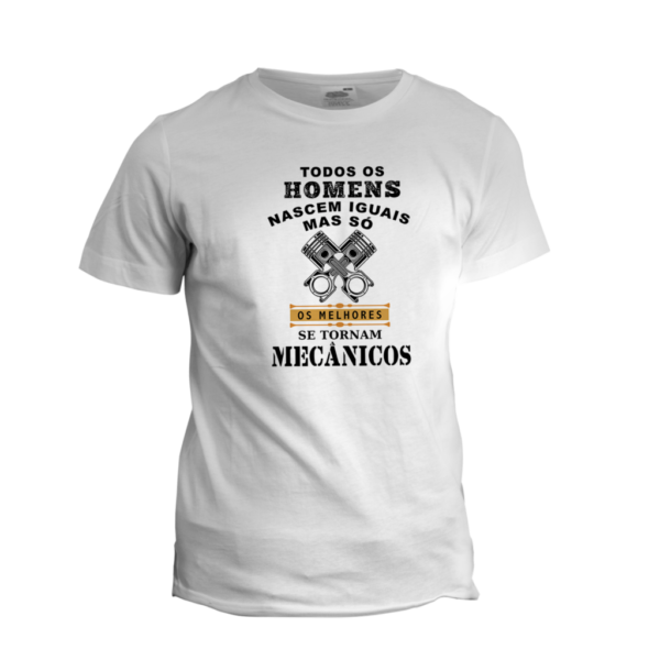 Camiseta Personalizada Mecânico
